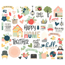 HAPPY TOGETHER EMBELLISHMENT KIT by SIMPLE STORIES