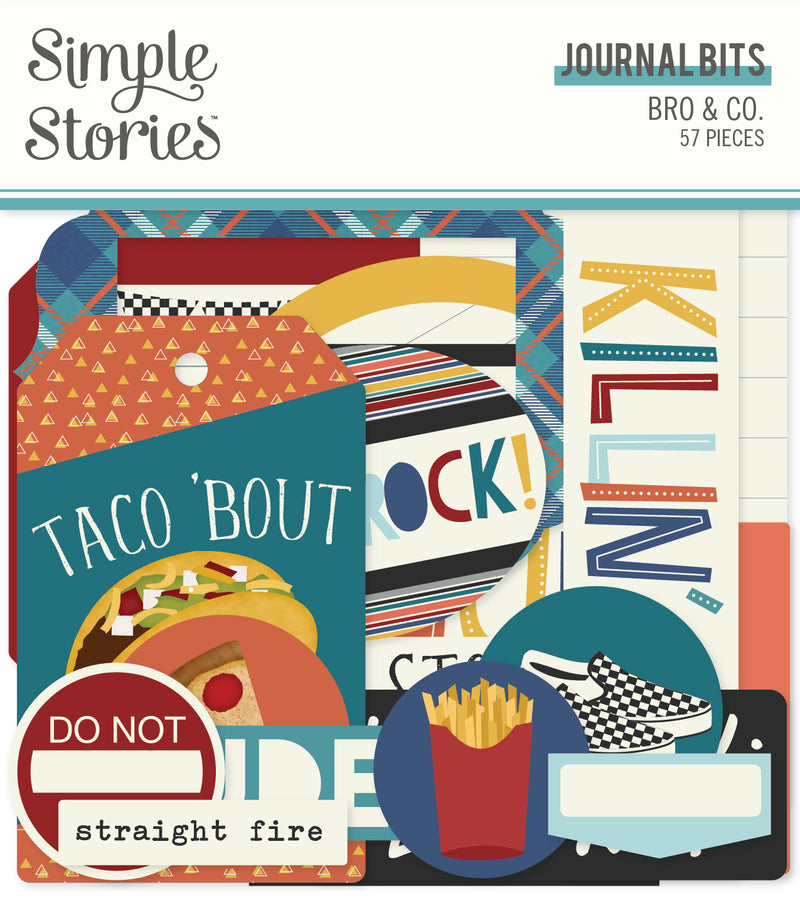 Bro & Co. Journal Bits & Pieces by Simple Stories