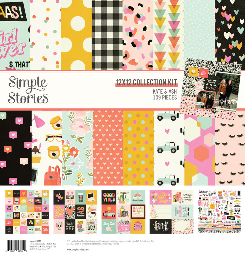 Kate & Ash Collection Kit by Simple Stories