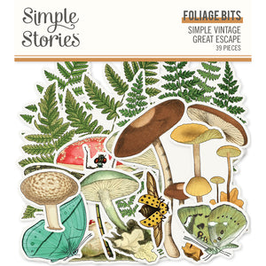 SV Great Escape Foliage Bits & Pieces by Simple Stories