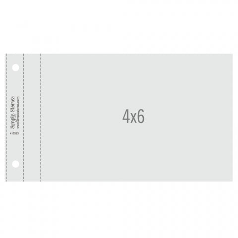 4x6 Pack Refills 4x6 SN@P! Flipbook Pages