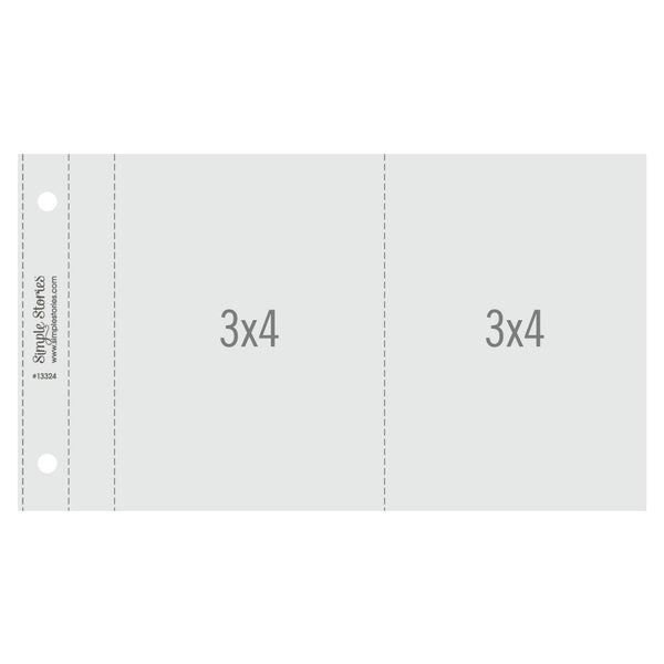 3x4 Pack Refills 4x6 SN@P! Flipbook Pages