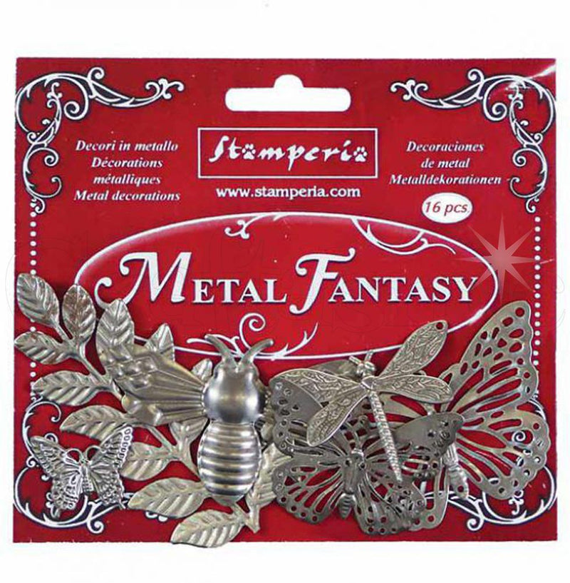Metal fantasy selection Nature - 16 pieces