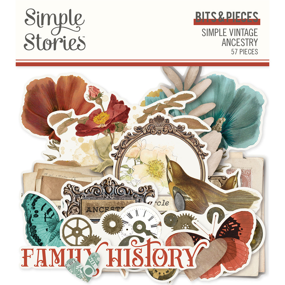 Simple Vintage Ancestry Bits & Pieces **SHIPPING OCTOBER**