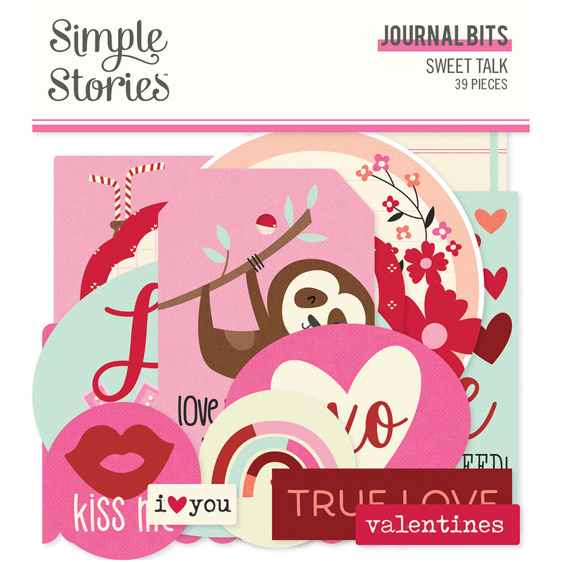 Sweet Talk Journal Bits