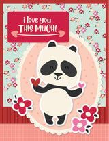 Sweet Talk Simple Cards Card Kit Lots of Love