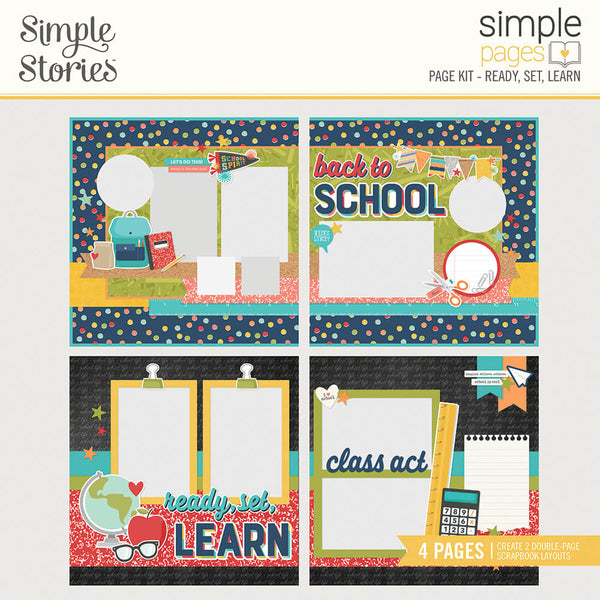 Simple Pages Page Kit - Ready, Set, Learn