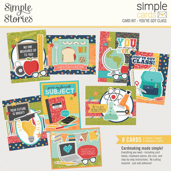 Simple Cards Card Kit - You've Got Class
