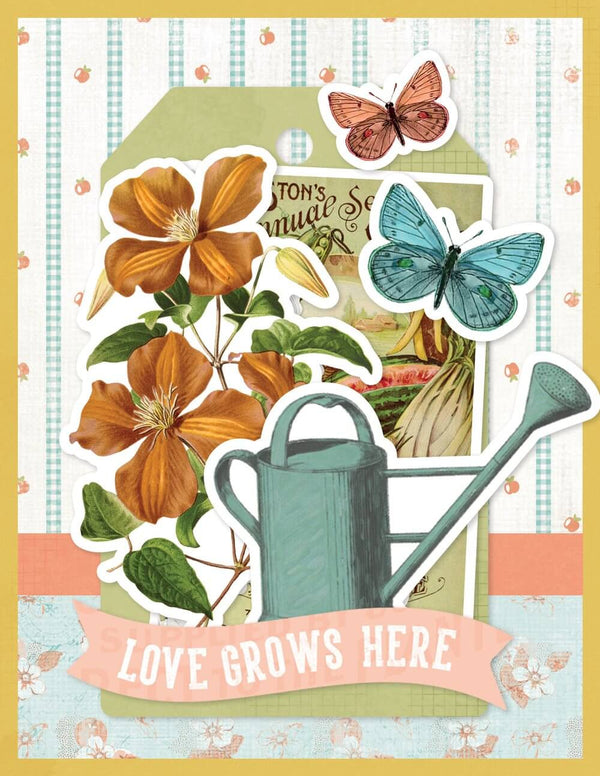 SIMPLE CARDS CARD KIT - LOVE GROWS HERE