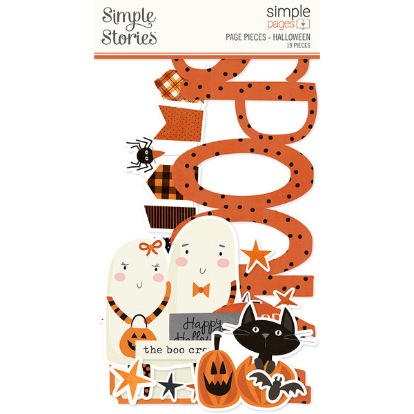 Simple Pages Page Pieces - Halloween