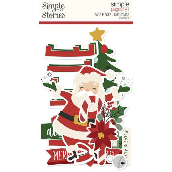 Simple Pages Page Pieces - Christmas