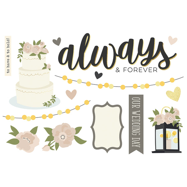 Simple Pages Page Pieces - Wedding