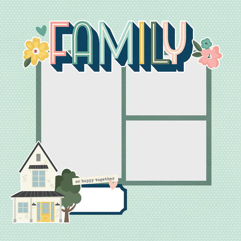 Simple Pages Page Pieces - Family
