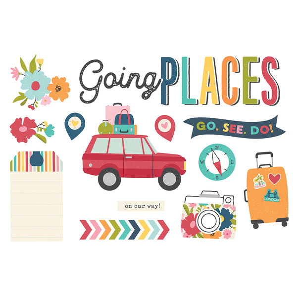 Simple Pages Page Pieces - Going Places