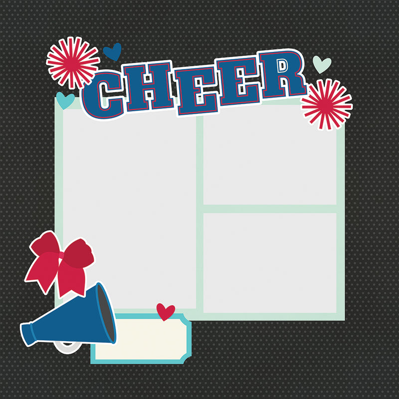 Simple Pages Page Pieces - Cheer