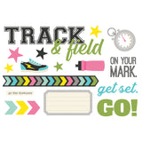 Simple Pages Page Pieces - Track & Field