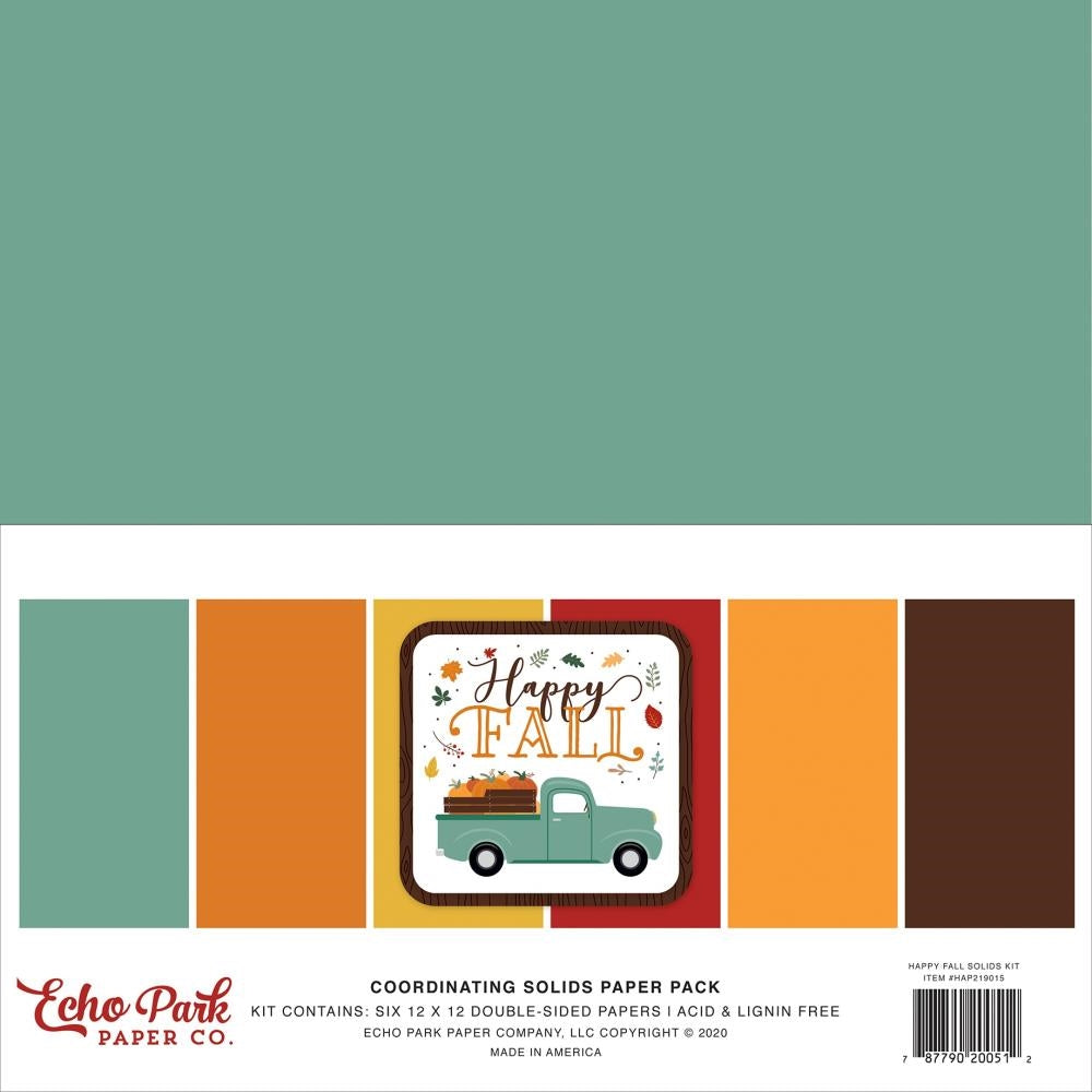 Happy Fall Solids Kit
