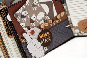 Hey Mister May Button Farm Club Mini Album Kit