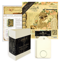 January Graphic 45 Monthly Class Series Vol 1 2020 - Keepsake Album & Gatefold Card