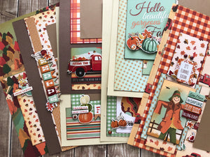 """Fall Break"" Page Kit by Mary-Ann Maldonado"