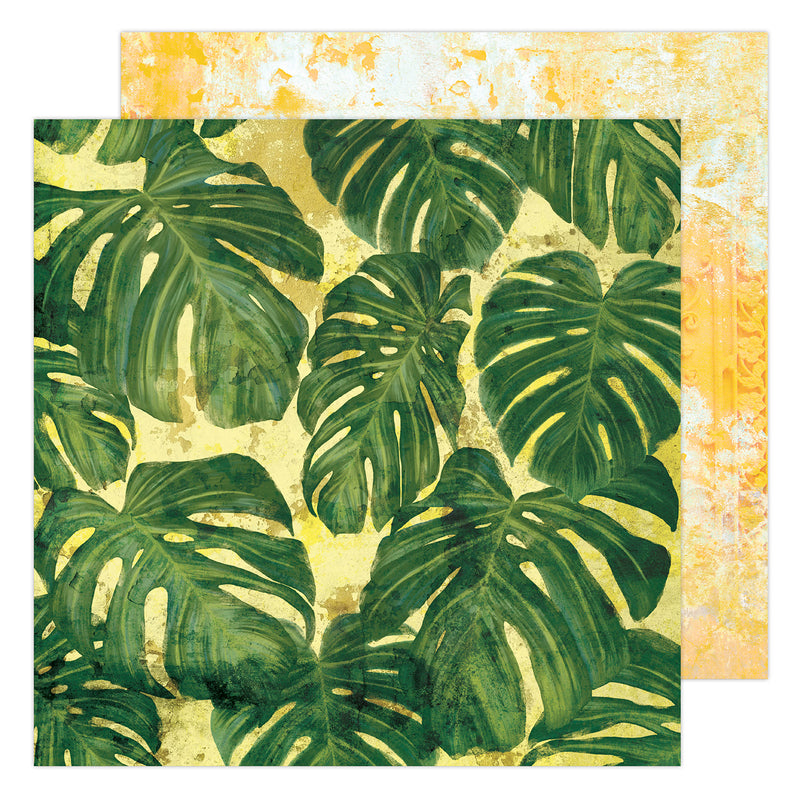 "PAPER TROPICS Heidi Swapp Art Walk Double-Sided Cardstock 12""X12"""