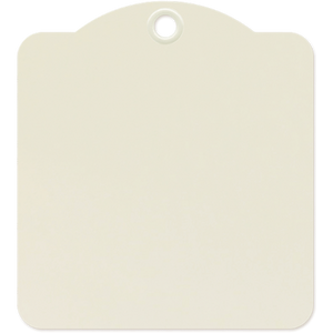 Graphic 45 Square Tags - Ivory