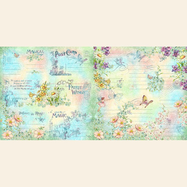 Fairie Wings Ephemera & Journalings Cards by Graphic 45
