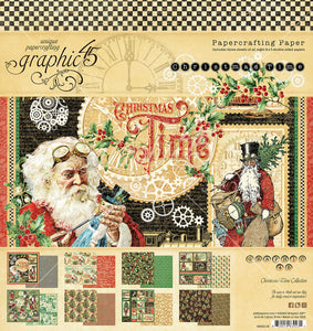 Christmas Time 8x8 Pad by Graphic 45
