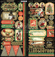 Christmas Time Stickers by Graphic 45