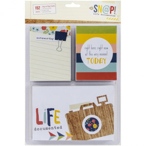 simple stories snap life documented everyday cards 152 pack