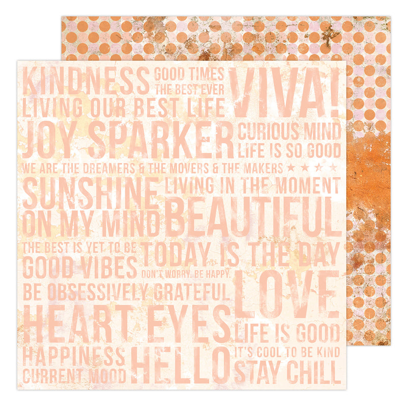 "PAPER ARTSY Heidi Swapp Art Walk Double-Sided Cardstock 12""X12"""