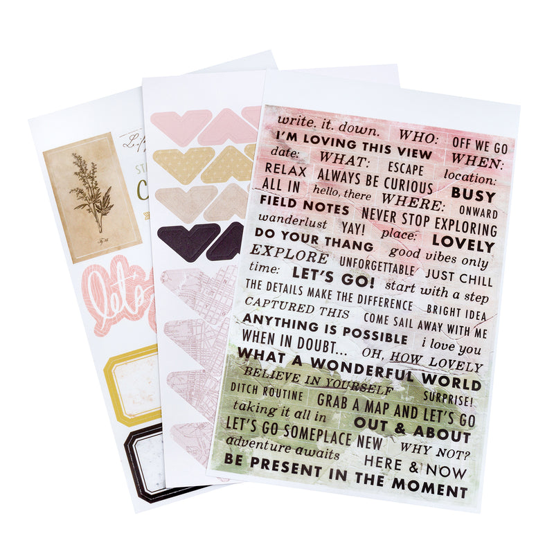 Heidi Swapp Storyline Chapters Mini Sticker Book - The Journaler