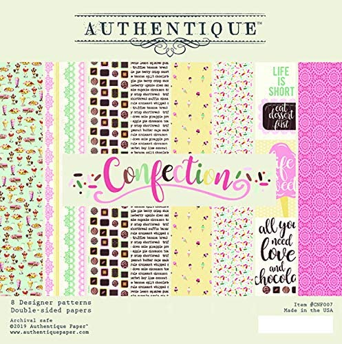 Confection 6x6 Paper Pad by Authentique Paper
