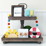 Tray Accessory Kit - June Kit (Summer Frame, Popsicles, Sunglasses) *Ships March 2021