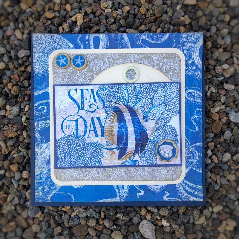 G45 Card Kit ~ Ocean Blue