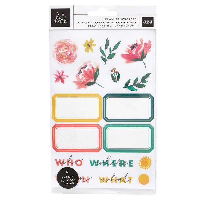 Heidi Swapp Storyline Chapters Mini Sticker Book - the planner