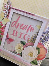 SIMPLE VINTAGE GARDEN DISTRICT TAG ALBUM BY ANGELA MOEN