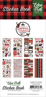 A Lumberjack Christmas Sticker Book