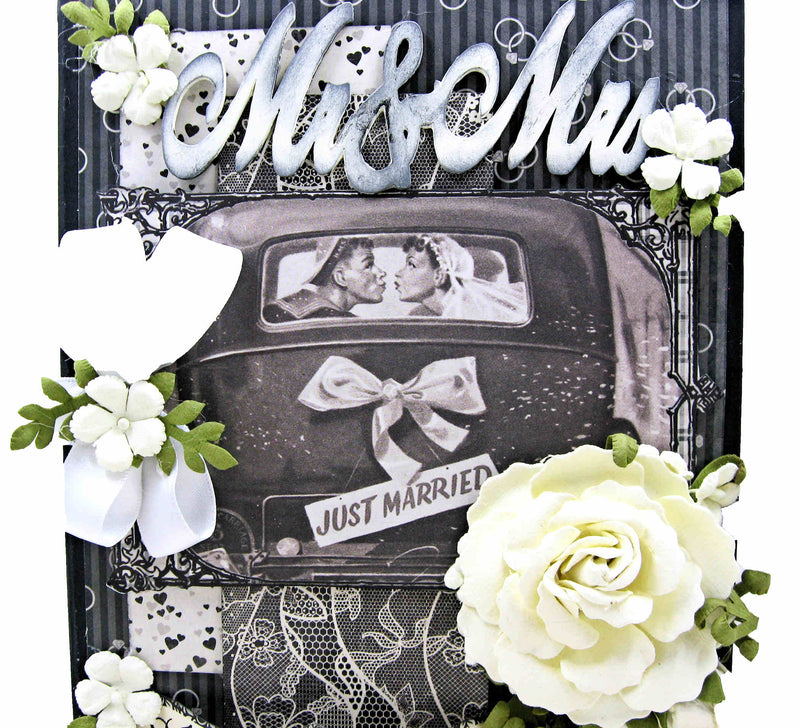 Timeless Wedding Mini Album by Kathy Clement