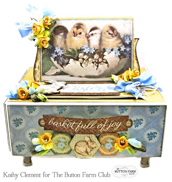 Basket Full of Joy Kit~ by Kathy Clement ~ TUTORIAL ONLY