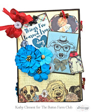Things I learned from my DOG Mini Album by Kathy Clement ~ TUTORIAL ONLY