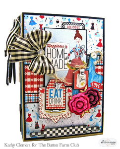 Authentique Ingredient Waterfall Recipe Album Kit by Kathy Clement