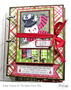 Christmas Memories with Nostalgia by Kathy Clement ~TUTORIAL