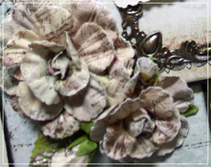 Blue Fern Quad Folio by Nancy Wethington ~TUTORIAL ONLY