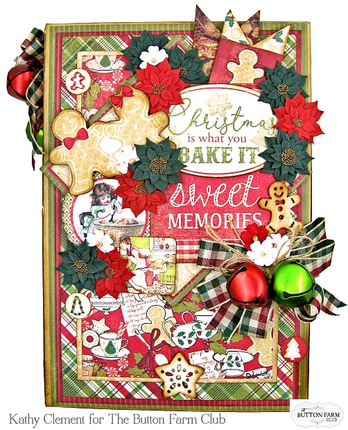 Rejoice Holiday Recipe Album ~ by Kathy Clement