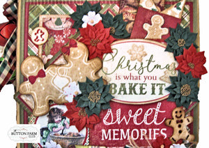 Rejoice Holiday Recipe Album ~ by Kathy Clement  - Pre Order