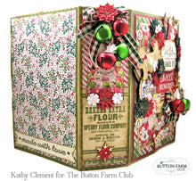 Rejoice Holiday Recipe Album ~ by Kathy Clement TUTORIAL ONLY