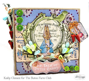 Peter Cottontail Folio by Kathy Clement ~ Tutorial Only