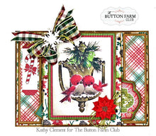 Rejoice Christmas Card Kit ~ by Kathy Clement TUTORIAL ONLY