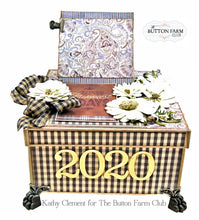 Tutorial  2020 Year in a Box by Kathy Clement